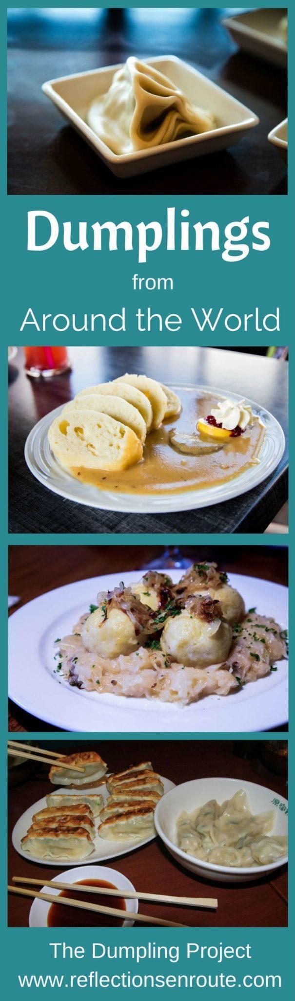 Dumplings Around the World - Everybody's comfort food.