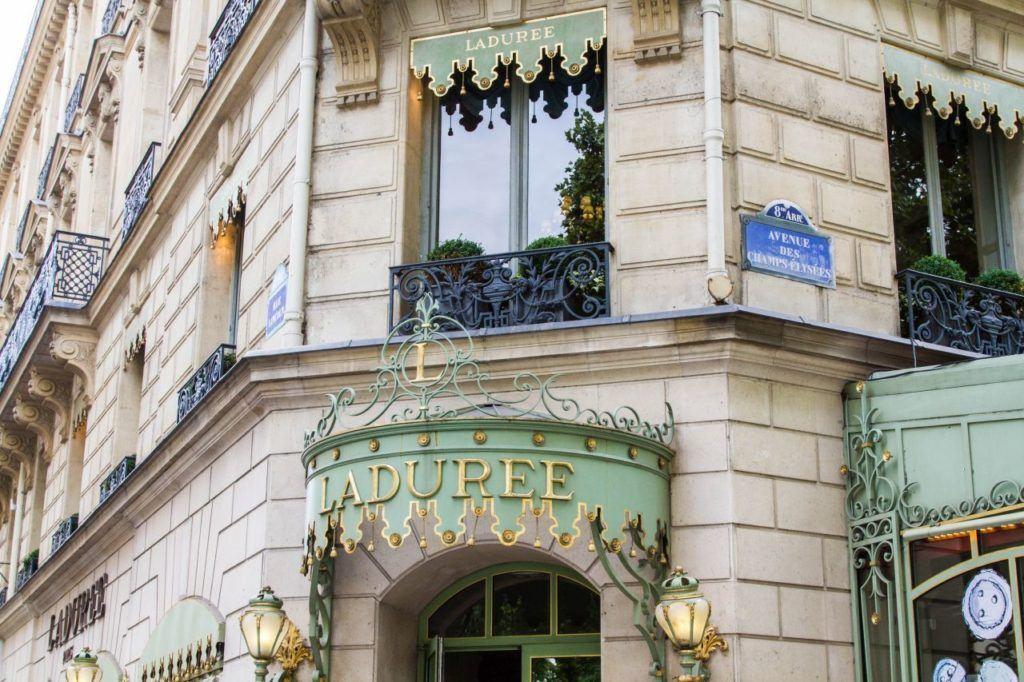 Champs-Elysees Avenue.
