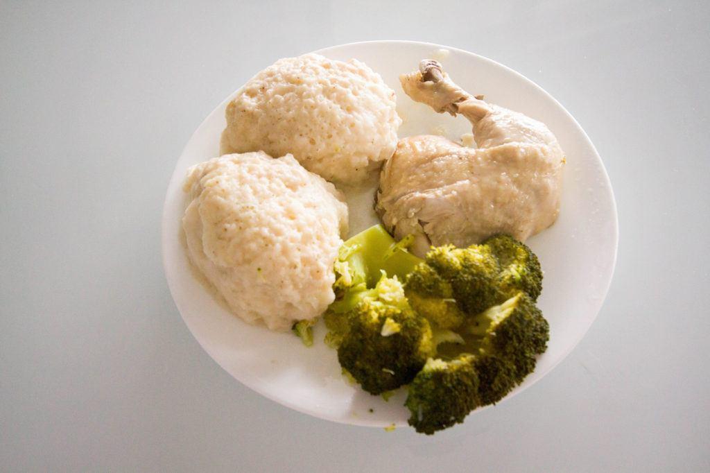 American chicken and dumplings.
