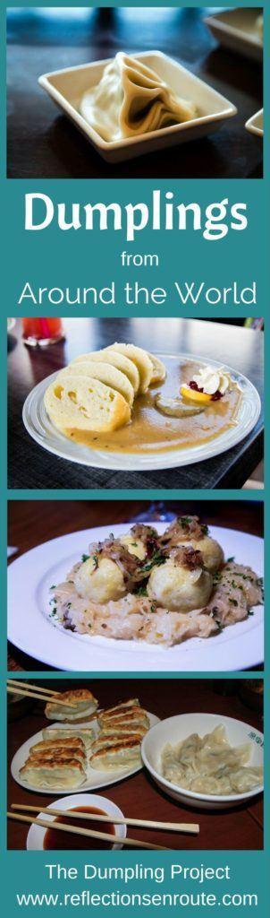 Dumplings from Around the World.