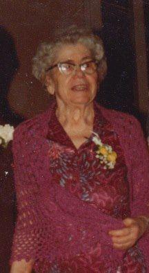 Grandma Helen Dewey Chesebrough.
