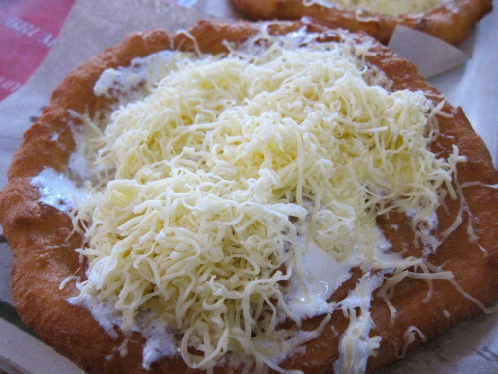 Langos, a must-try Hungarian food!