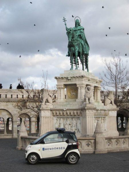 Fisherman's Bastion is one of the many things to do in Budapest.