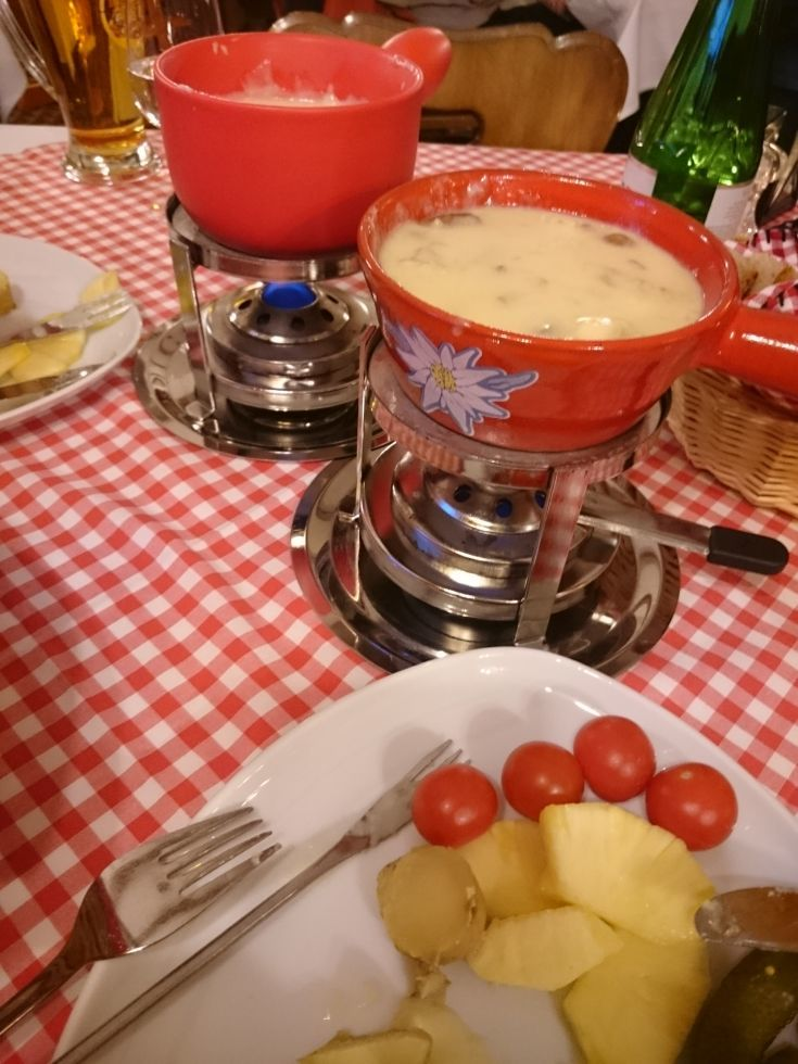 Swiss fondue is the most comforting of winter foods. Click here to find out what else to do on a winter weekend in Switzerland.