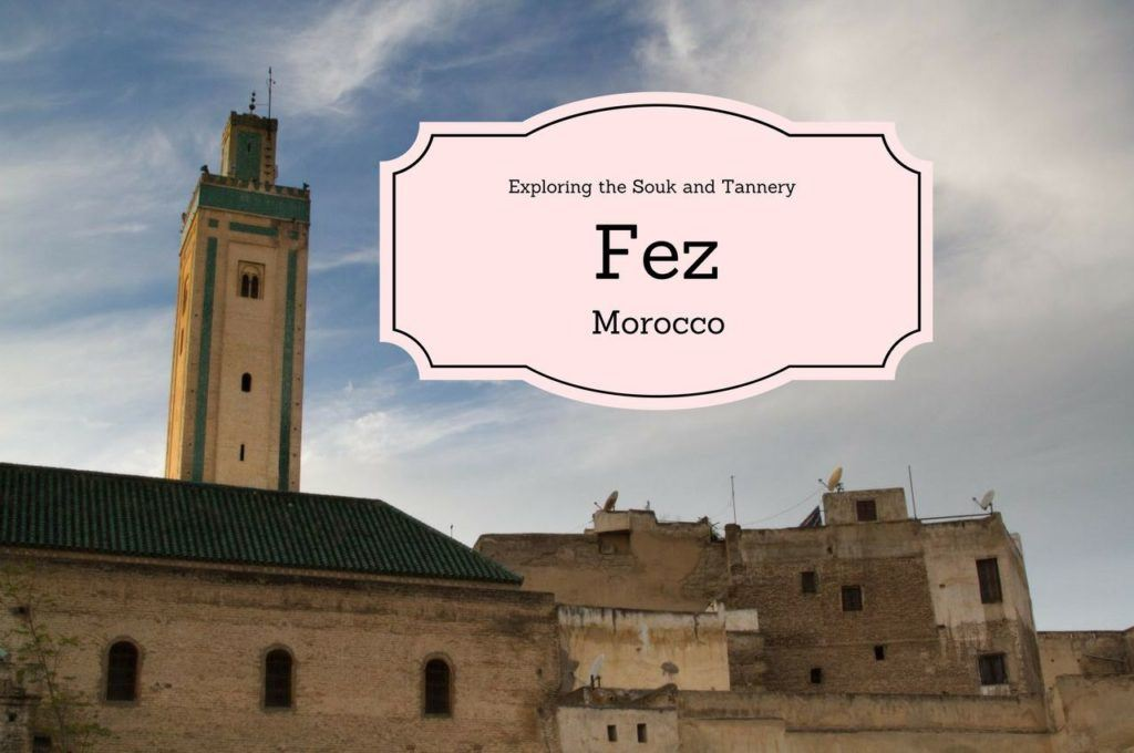 Exploring The Souk and Tannery of Fez, Morocco.