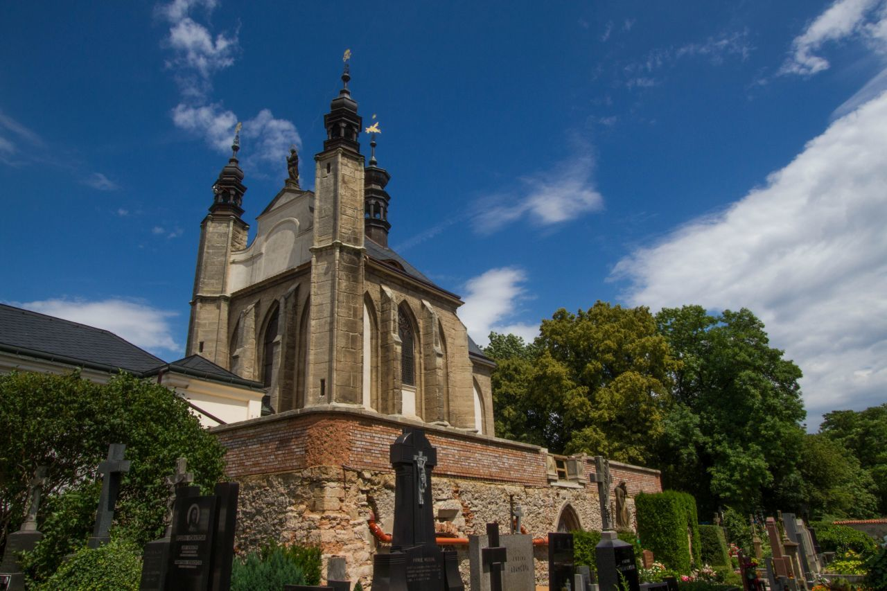 Things to do in Kutna Hora - The Sedlec Bone Church sits up on a hill overlooking the town.