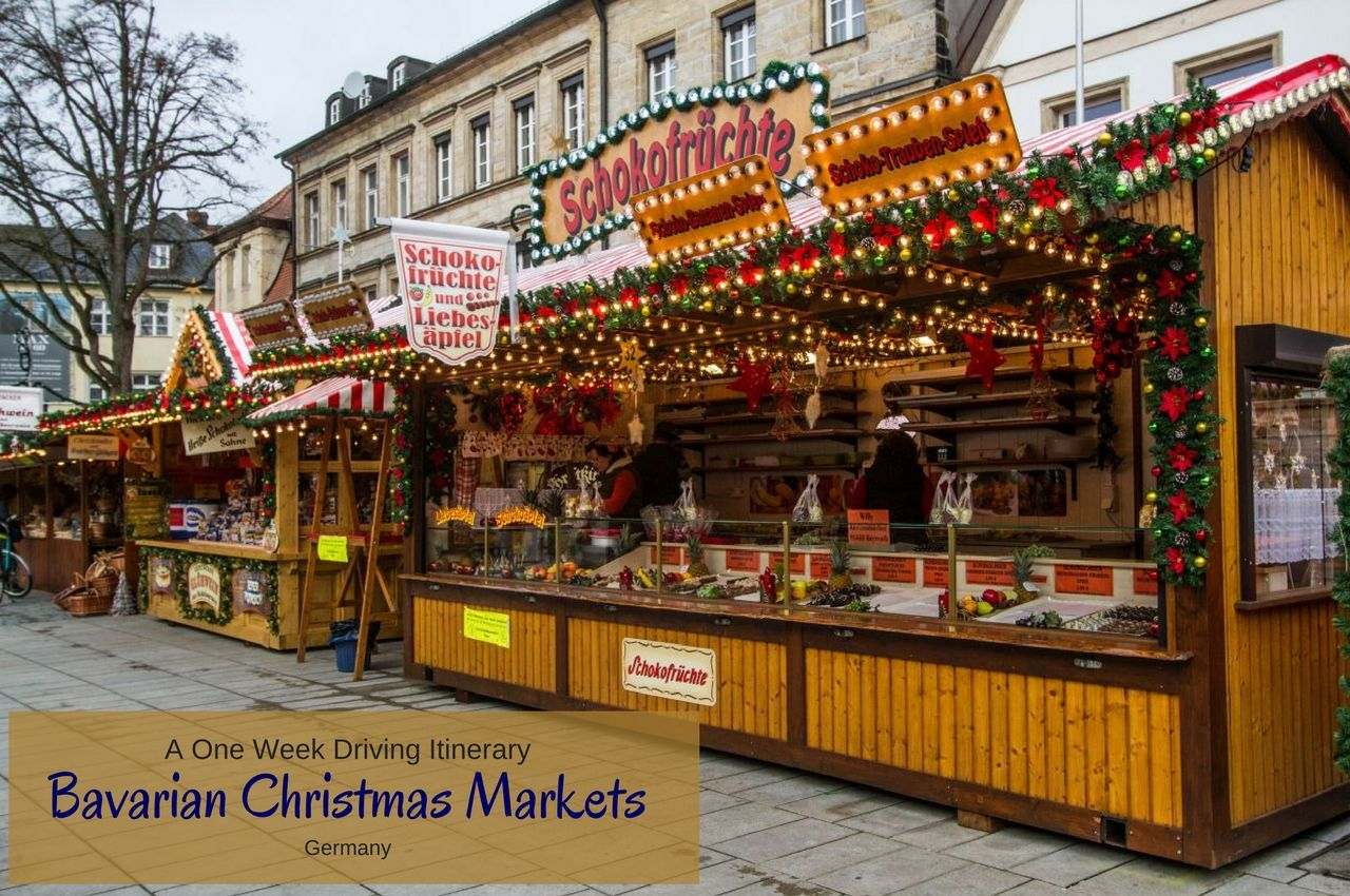 The Big 5 Bavarian Christmas Markets - A One Week Itinerary ...