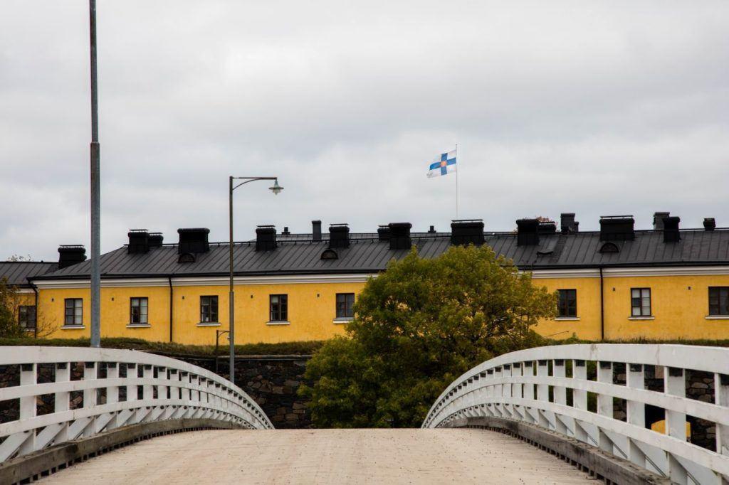 Some of the beautiful buildings in Helsinki.