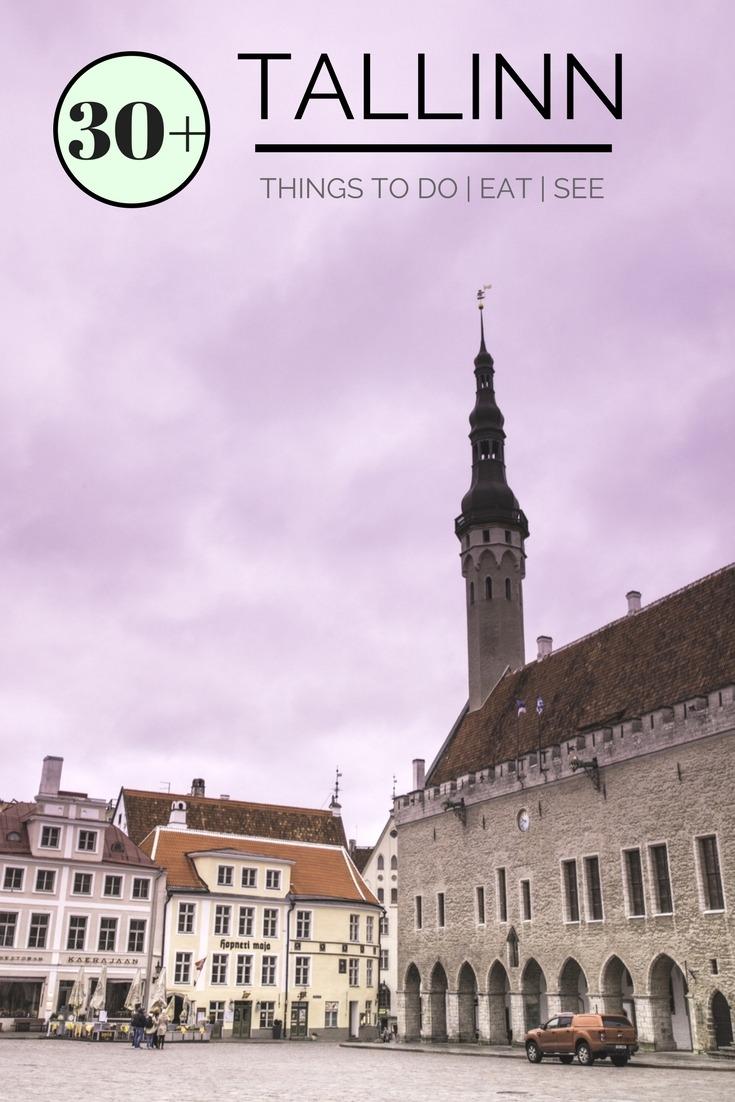 Tallinn, one of the quaintest Medieval cities in Eastern Europe!