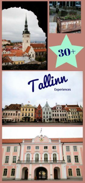 30 + fun things to do in Tallinn.