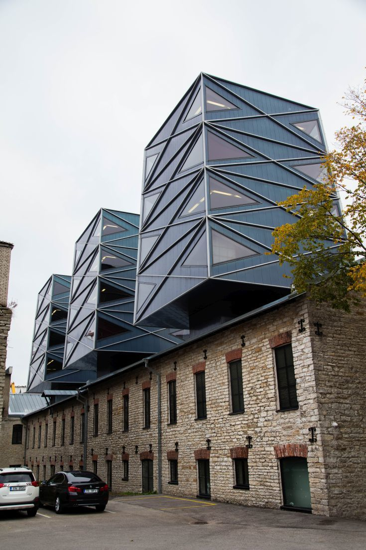 Amazing renovations are being done in Estonia. Look at this architecture.