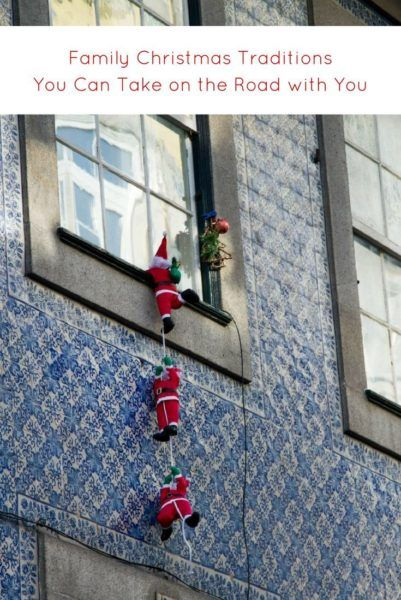 Portuguese tiles and Santas! Click here to find out how to take your Christmas on the road.