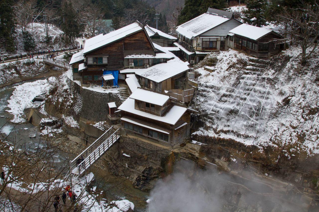 Snow Monkeys in Hot Tubs - Bucket List Japan