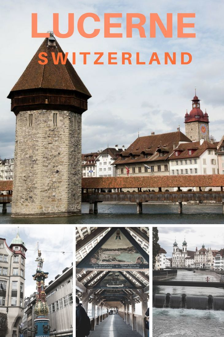 The stunning city of Lucerne! Click through to see and learn more.