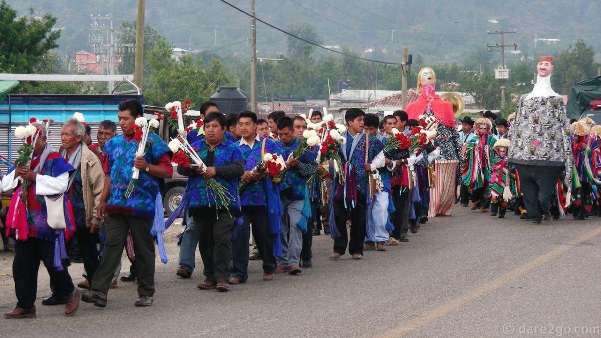 Festival parade.