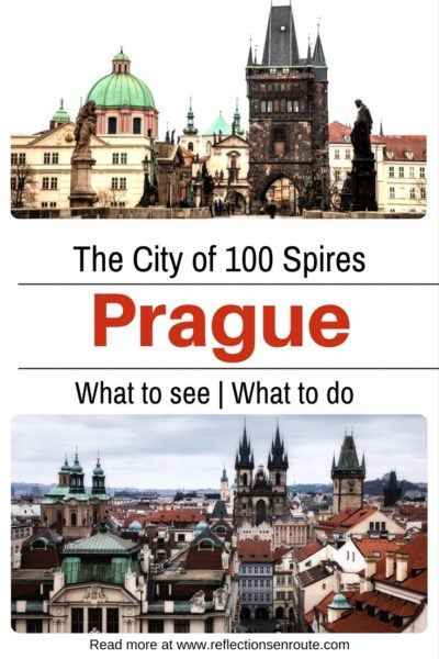 Prague! One of the most beautiful of European cities!