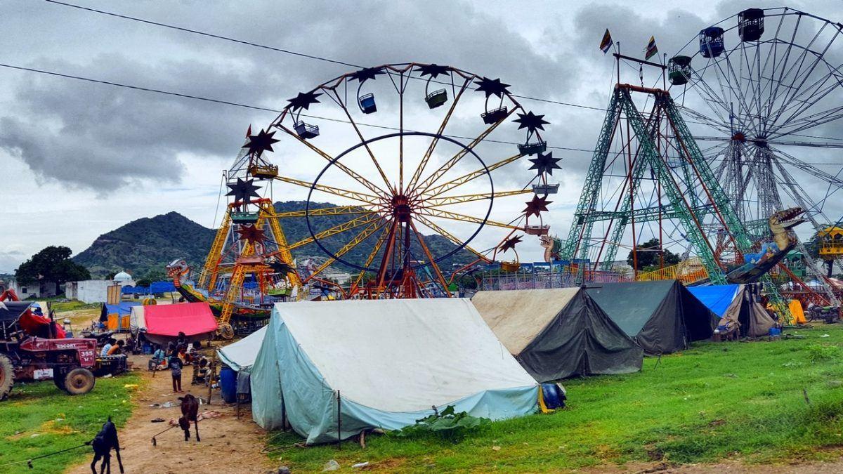 A fair in Rajasthan.