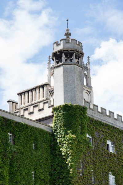 Trinity college tower.