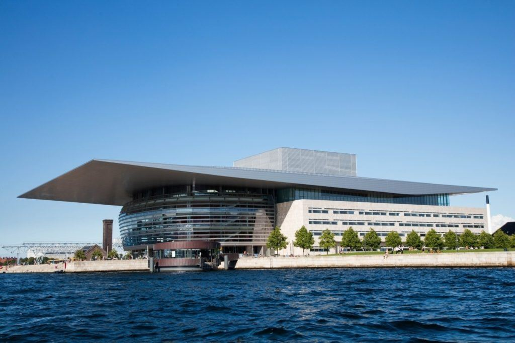One of the top attractions in Copenhagen is the Opera House.