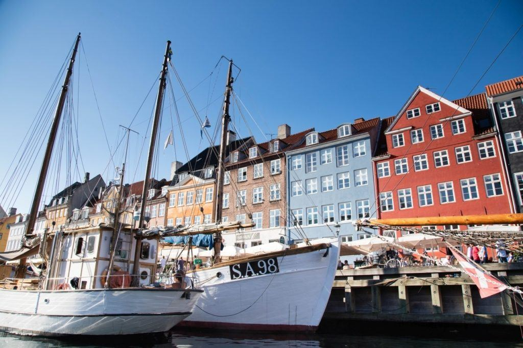 Taking a harbor cruise from Nyhaven is definitely one of the cool things to do in Copenhagen.