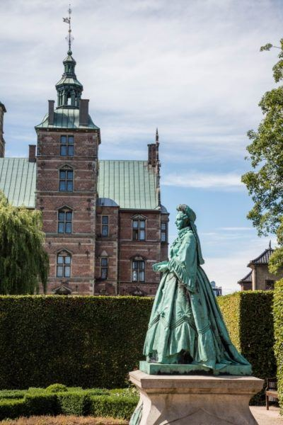 Don't miss the Rosenborg Castle on your 2 days in Copenhagen.