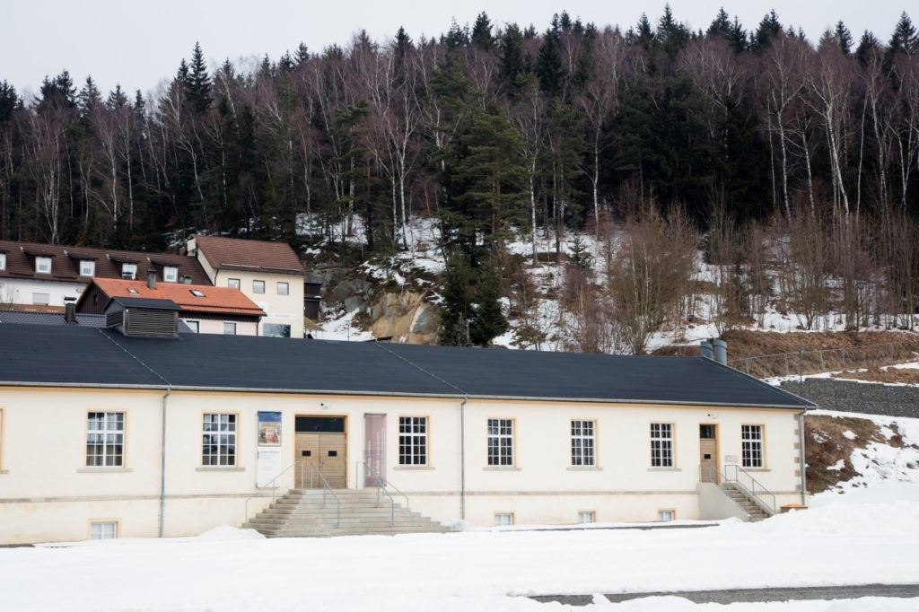 A self-walking tour leads you to this building where you can watch a movie about the prisoners and history of KZ Flossenburg in both English and German.