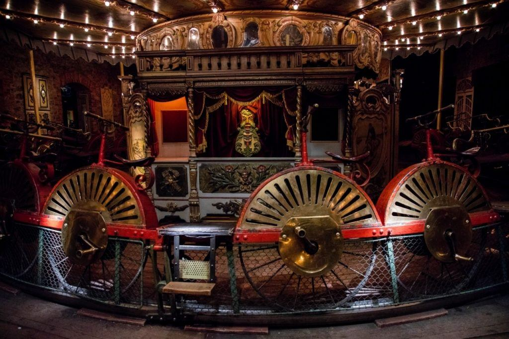 The rides, like this wagon, the games, and the showmanship in this Paris gem, are really worth experiencing.