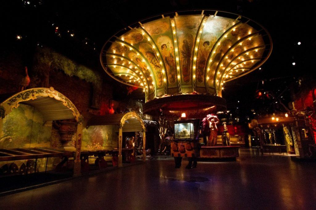 A look at the interior of the Musee des Arts Forains.