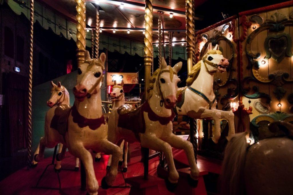 Musee des Arts Forains Carousel.