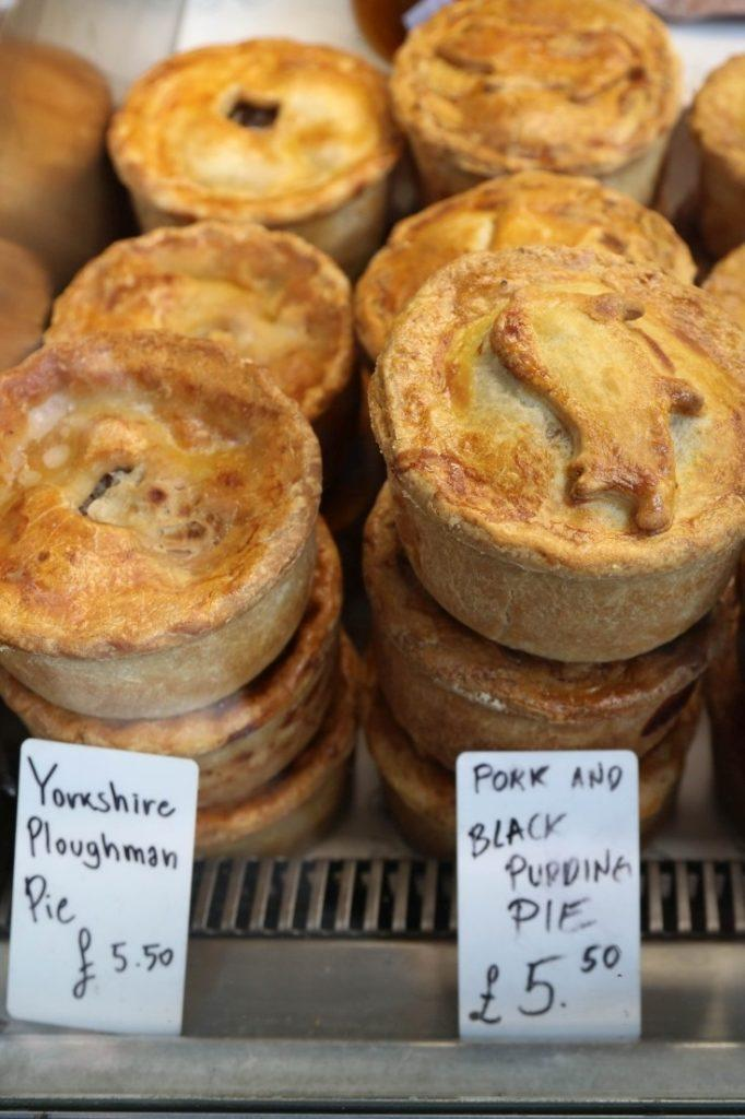 Pies from the Ginger Pig.