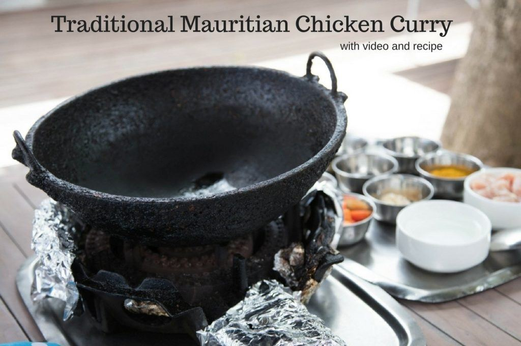 Foodies On The Road - Traditional Mauritian Chicken Curry