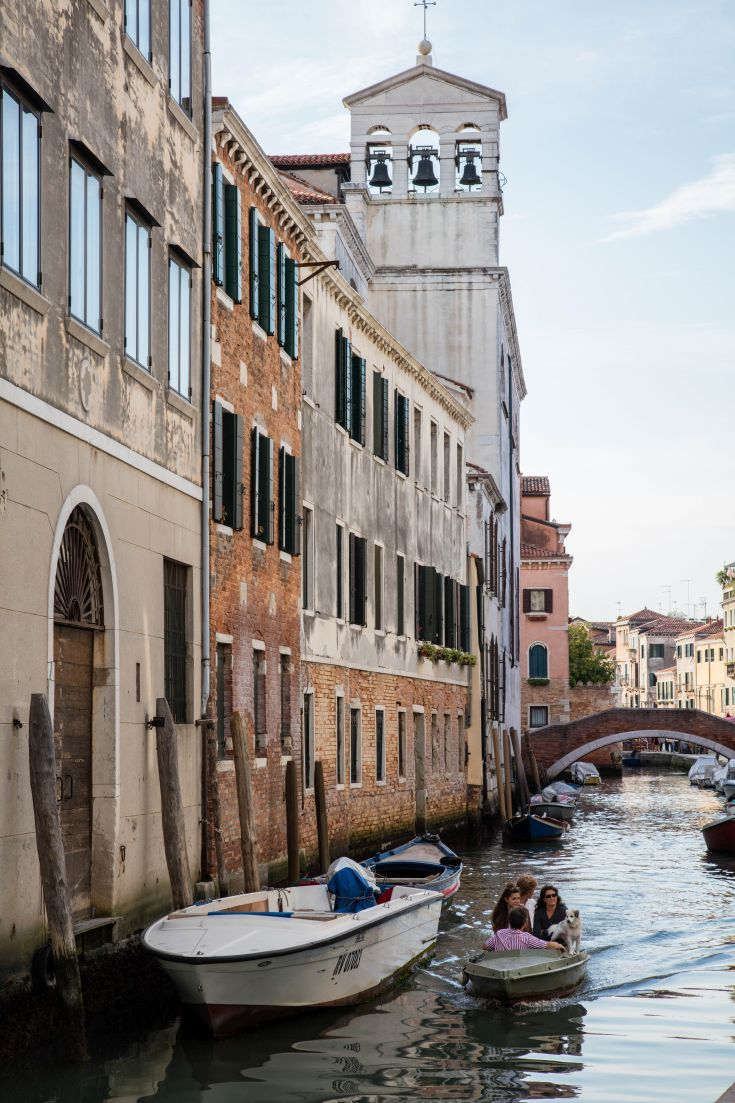 Is taking a gondola ride on your Venice bucket list? It was on mine, but here's what I did about it. Click here to find out all about traditional Venetian boats!