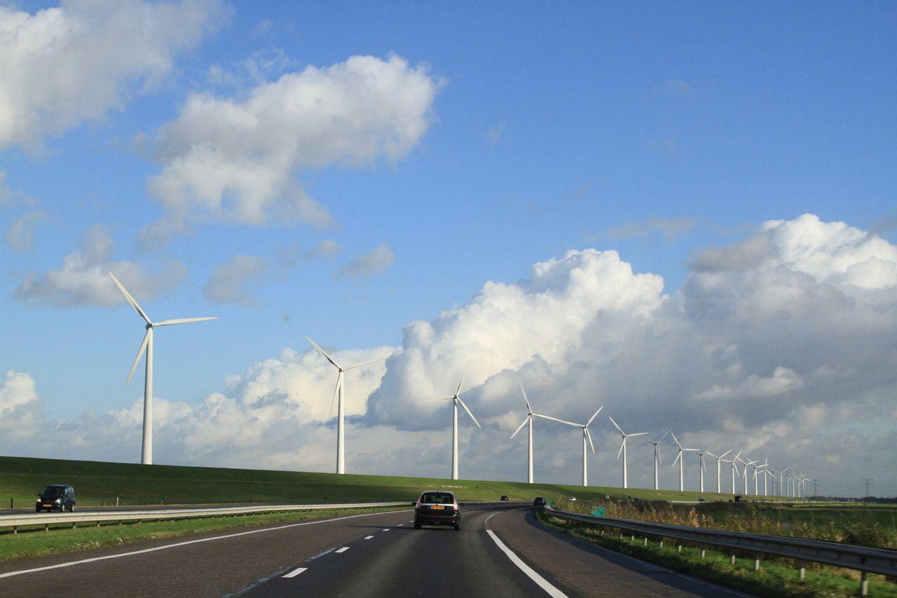 Driving on Dutch Autobahn