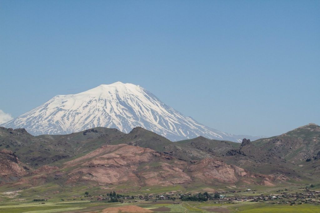A view of Mt. Aragat, one of the best things to do in Armenia.