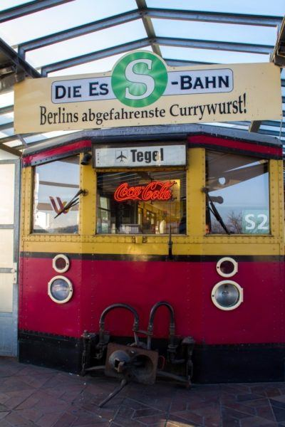 Curry wurst stand, the best cheap eats in Berlin!