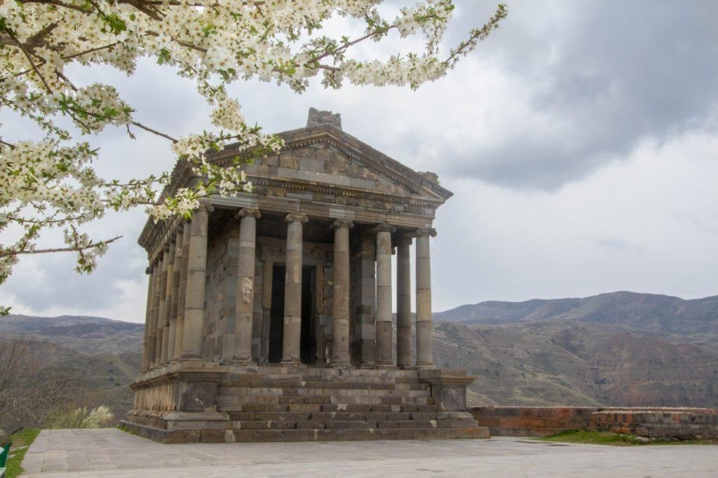 Temple of Garni.