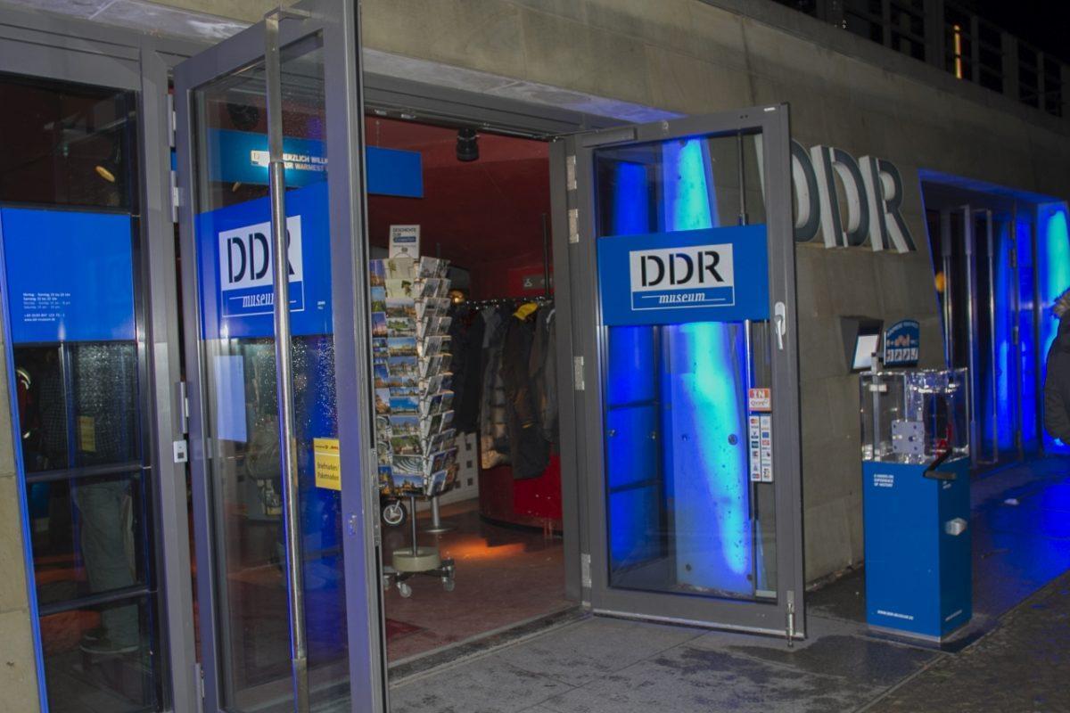 Top Sights Berlin - the DDR Museum front doors