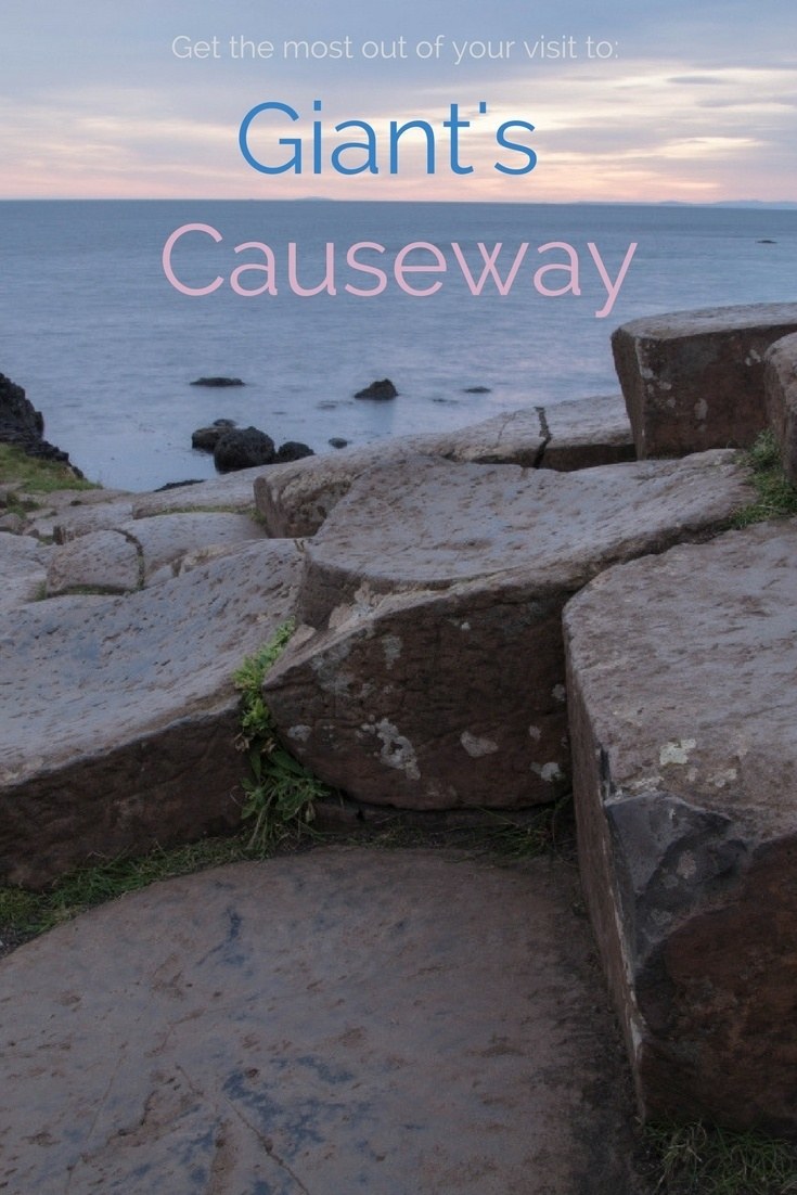 Fulfill that wish list and get out to see the sunrise at the Giant's Causeway!