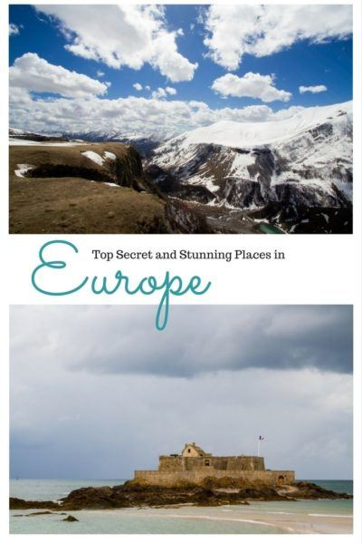 Are you looking for some new and beautiful places in Europe to travel to? We've highlighted ten places that you may not have ever heard of, yet they are stunning and gorgeous. Click here to find out where they are! ...............................places to see in Europe   hidden gems in Europe   secret places in Europe   places to go in Europe   beautiful places in Europe