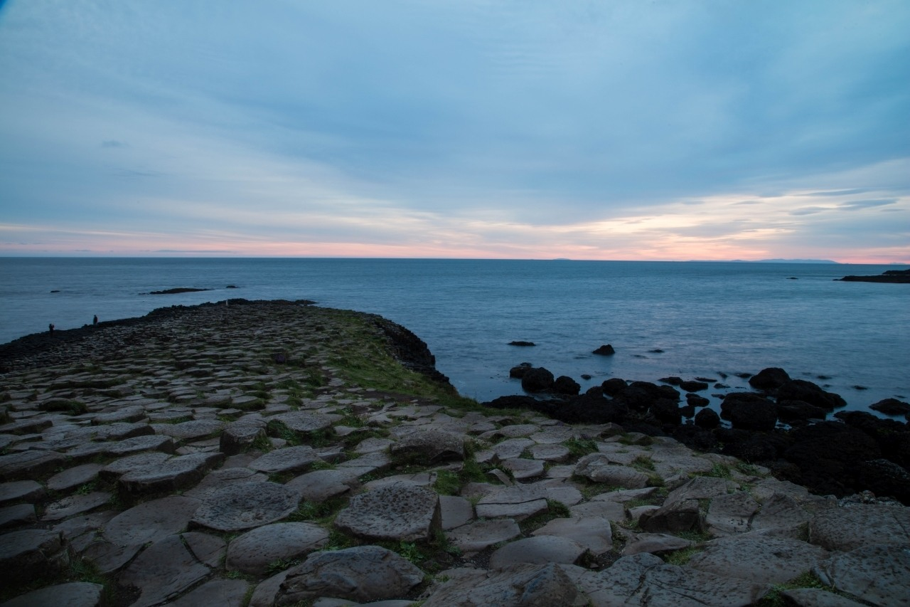 Sunrise and Exploration on our own Giant's Causeway Tour