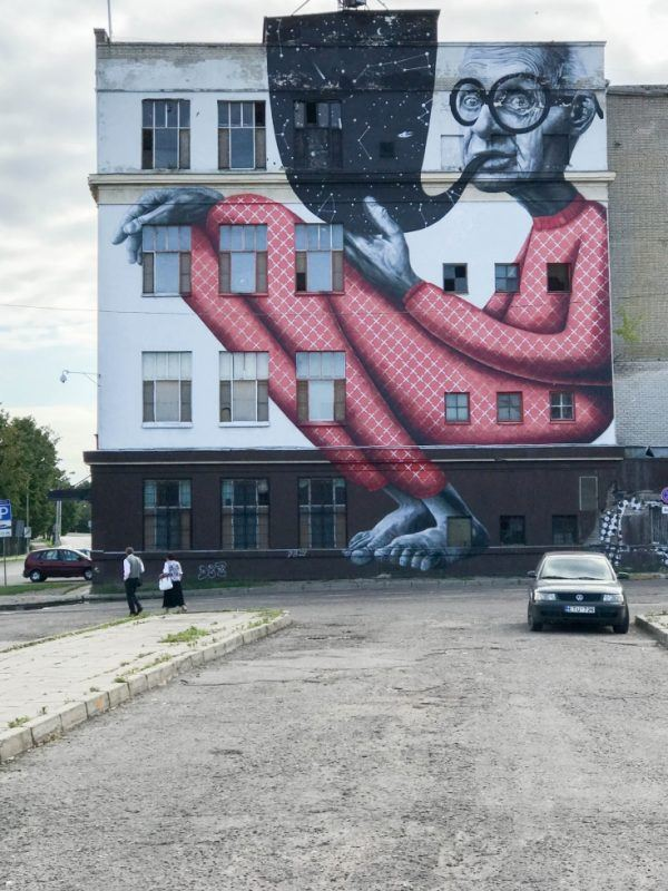 Kaunas Street Art -Look for all kinds of art when in Kaunas Old Town
