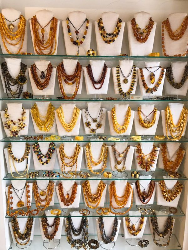 Kaunas Lithuania Amber Shopping - Shopping in Kaunas is one of the top things to do!