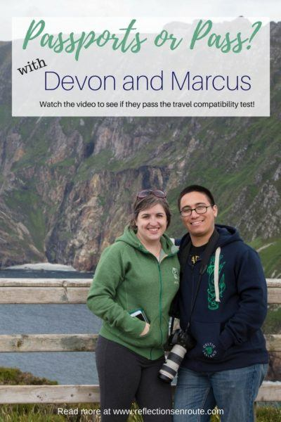 Can Devon and Marcus pass our travel companion test?