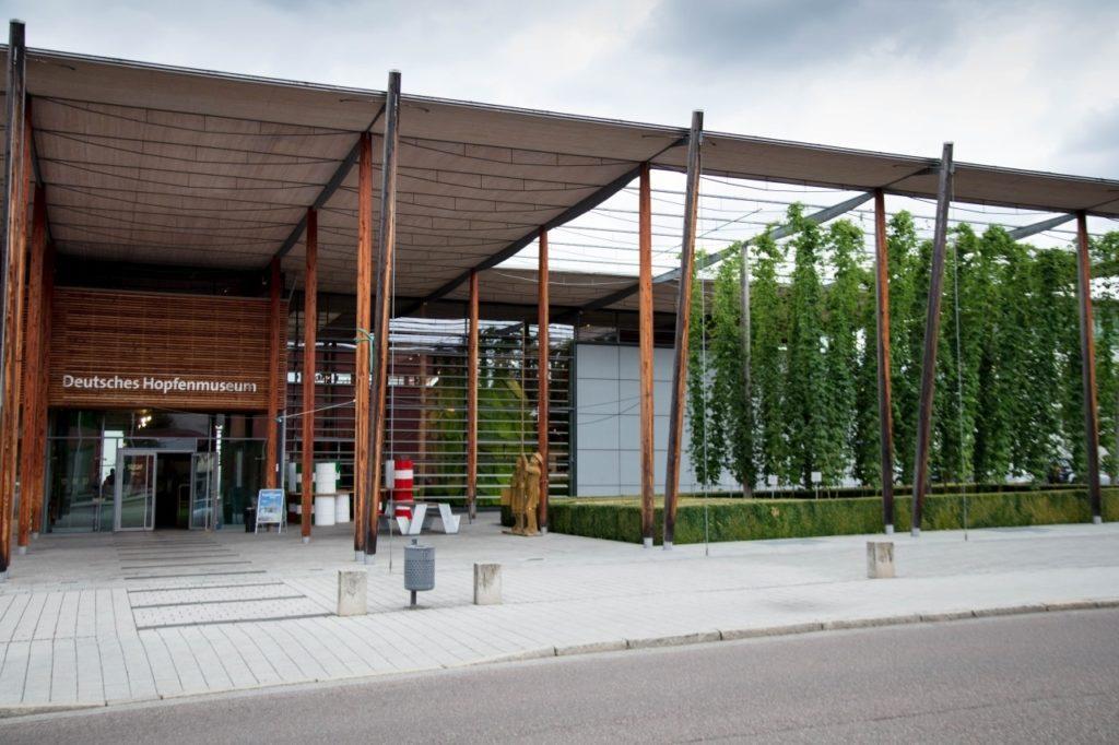 The Hops Museum or Deutsches Hopfenmuseum.