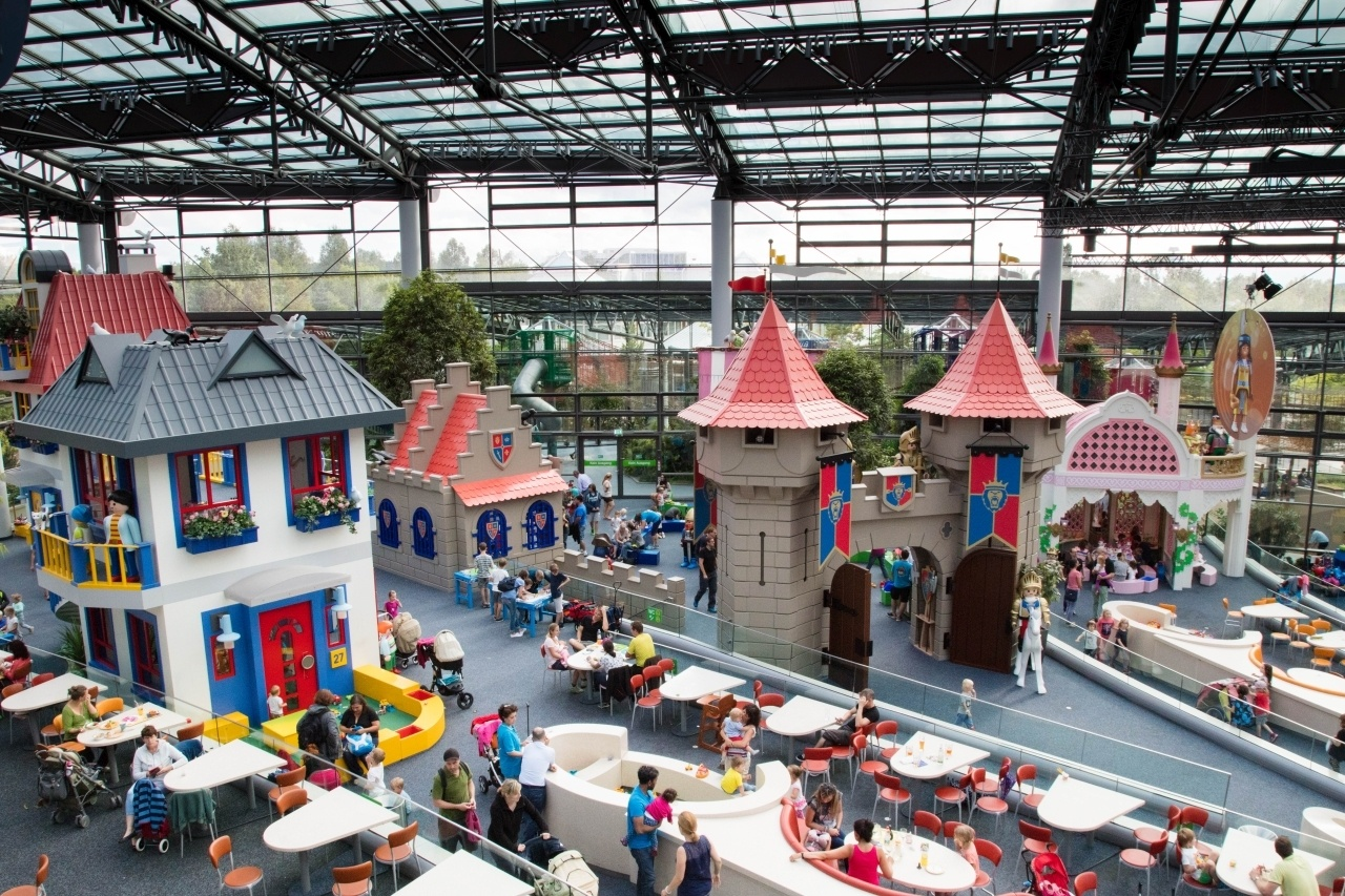 Grab a bite to eat, but don't stop playing at Playmobil Funpark.