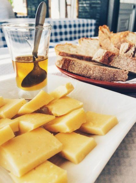 Cheese of the Azores.