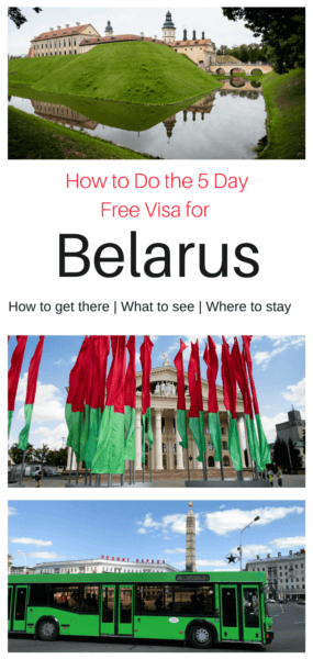 Belarus and its 5 day free visa - You just can't not go!