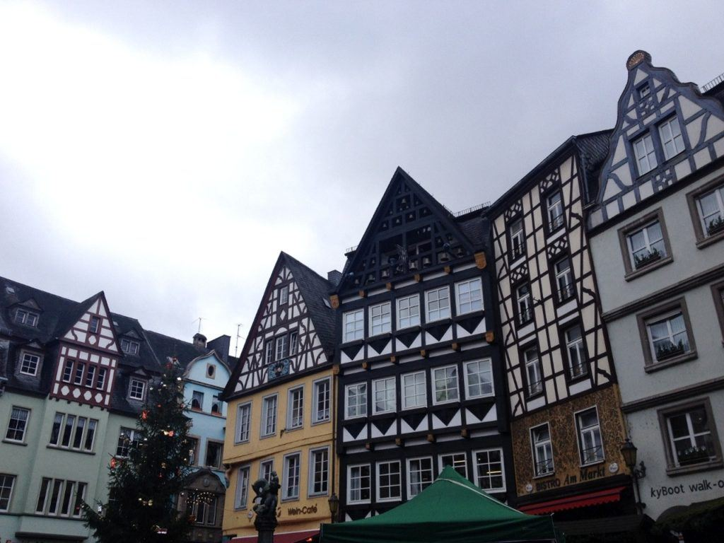 Cochem city center a great German city to visit during winter.