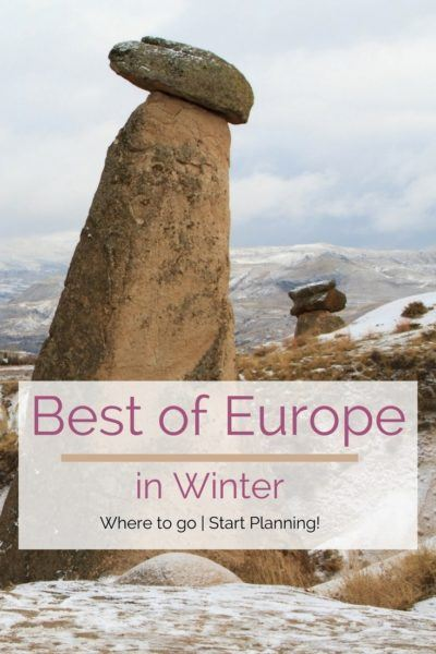 It's winter and you are wondering where to go in Europe! Here's your answer!