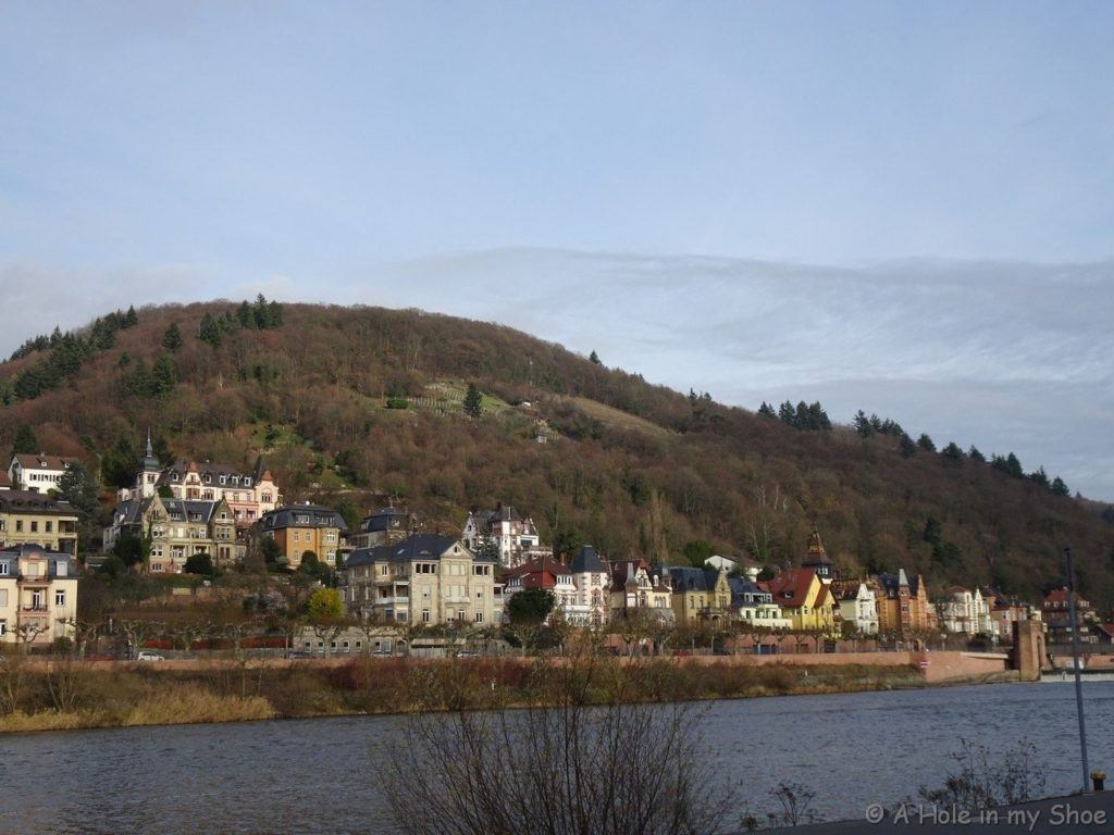 Don't leave out Heidelberg with this city view in one of your best places to visit Germany in winter.